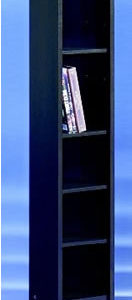Opny Mocha Cd Dvd Storage Unit Tower Rack