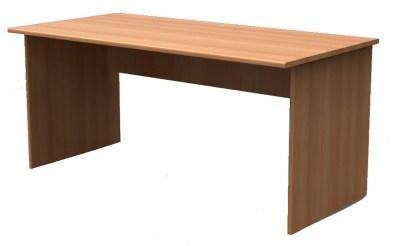 Quint Rectangle Panel End Desk 1600Mm