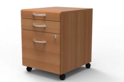 Quint Pedestal Filing Cabinet 3 Drawer 3