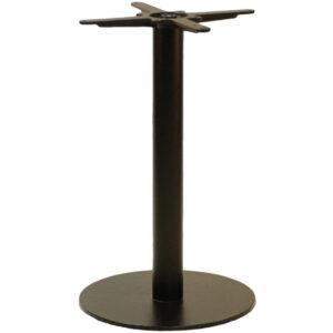 Gorzan Brushed Steel Round Table Base