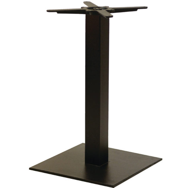 Gorzan Powder Coated Square Table Base
