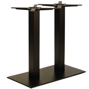 Gorzan Black Rectangular Table Base