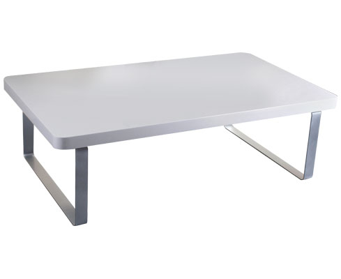 Maudin High Gloss Coffee Table White