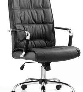 Sanskrit Leather Office Chair High Back
