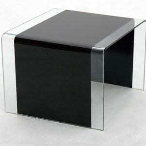 Anckor Black Lamp Table