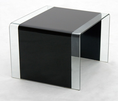 Anckor Black Lamp Table
