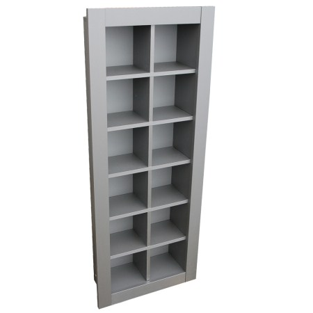 Balti Shelf Unit - 12 Cubes