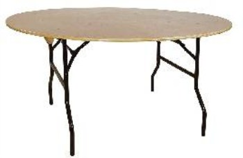 Astro Banqueting Table - Wood And Steel - Folding