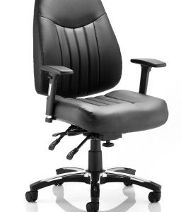 Barce Leather Swivel Adjustable Office Chair