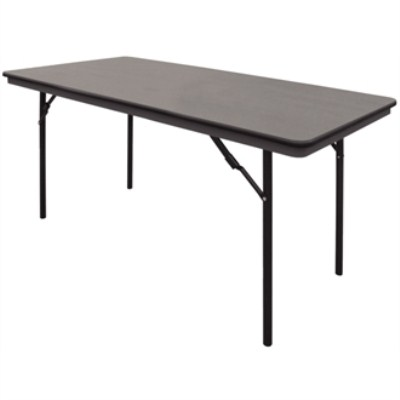 Teena Abs Folding Banquet Rectangular Table 6Ft Fully Assembled