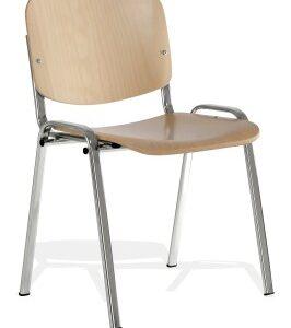 Taru Stackable Wood Office Chair