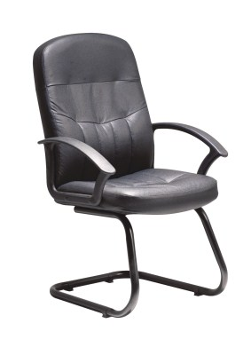 Cava Leather Cantilever Office Chair