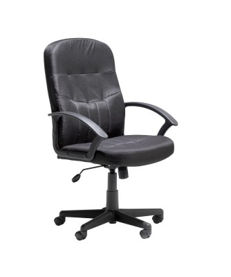 Cava Leather Swivel Office Chair