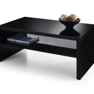 Haley High Gloss Coffee Table - Black