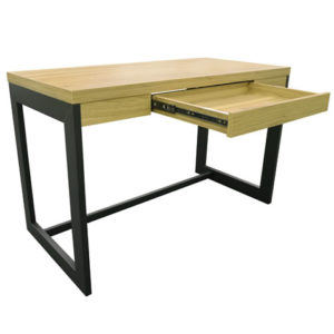 Ray Home Or Stylish Modern Office Computer Desk Office Workstation Oak And Black