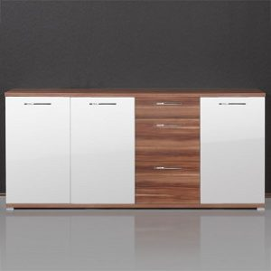 Calo Buffet Sideboard - White High Gloss German Made Quality