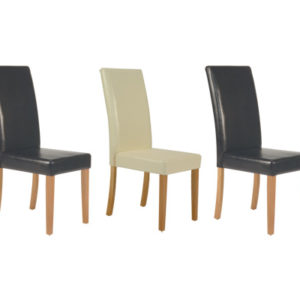 Cordovero Leather Chairs Set Of 2