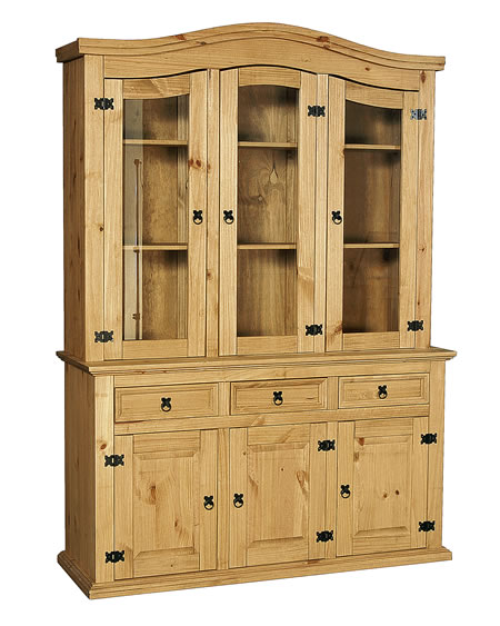 Corano Wide Sideboard With Hutch