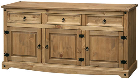Pereza Mexican Pine Large Sideboard