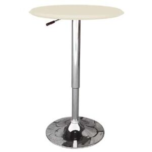 Cumbria Adjustable White Wooden Table