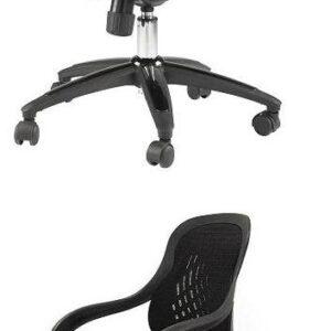 Lofty Designer Chair - Mesh Back - Red