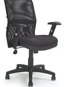 Dakota Black Mesh Backrest Manager Chair