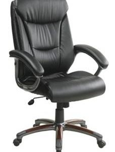 Texas Cow Leather Executive Office Chair - Flip Down Back