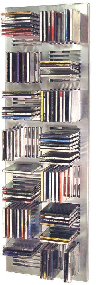Dast Wall Mounted Media Storage - Black