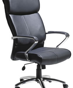 Lavel Leather Executive Office Chair With Swivel Function