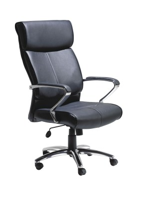 Drez Leather Swivel Chair