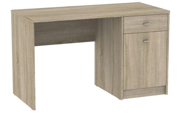 Fosy 1 Door 1 Drawer Office Or Home Desk Sonama Oak