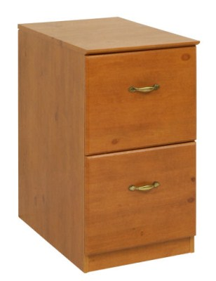 Faco Wood Filing Cabinet - 2 Drawer