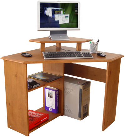 Faco Wood Workstation - Corner
