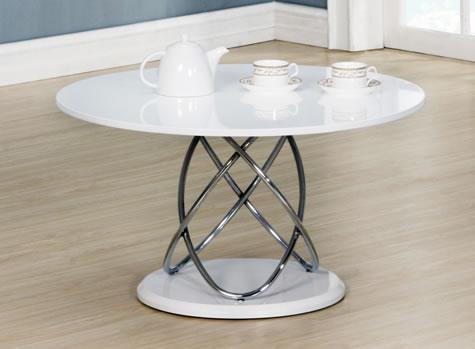 Gior Glass Coffee Table - Black