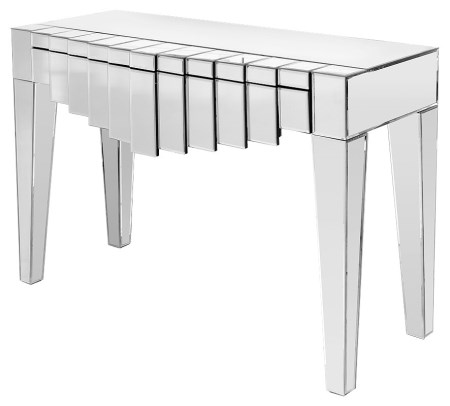Mark Hall Table - Mirrored Glass