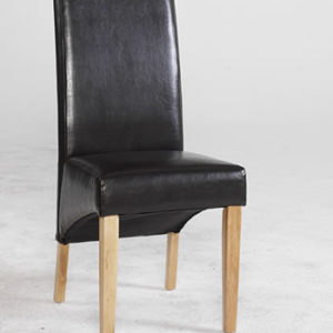 Razel Byecast Leather Dining Chair
