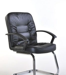 Here Leather Cantilever Office Chair
