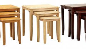 Kingston Nest Of Tables - Natural