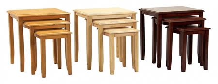 Kingston Nest Of Tables - Natural