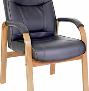 Kingslow Light Wood Visitor/Office Chair