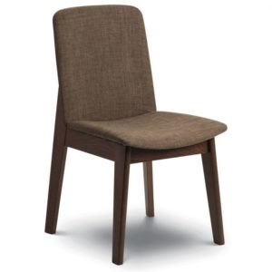 Kendar Modern Retro Comfortable Fabric Dining Chair - Fully Assembled