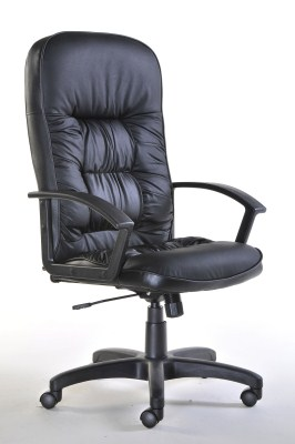 Kinn Leather Swivel Office Chair