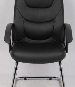 Maj Leather Cantilever Office Chair