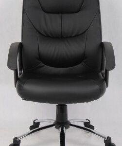Maj Leather Swivel Office Chair
