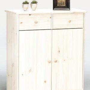 Farm Style Sideboard - 2 Door 2 Drawer Whitewash
