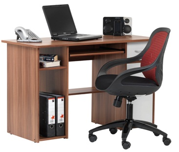 Island Desk & Lofty Chair Combo