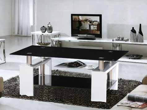 Jove Glass Coffee Table