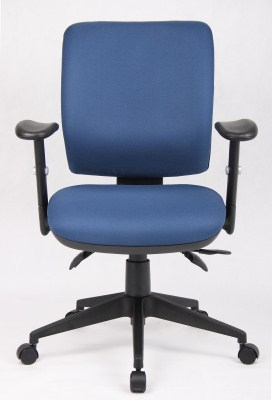 Mod Fabric/Foam Padded Swivel Office Chair 3 Lever