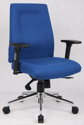 Mod Fabric/Foam Padded Swivel Office Chair Medium Back
