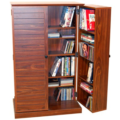 Masa Walnut Multimedia Storage Cabinet